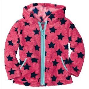 HA Macaron Stars Marshmallow Hoodie 80 18-24nm